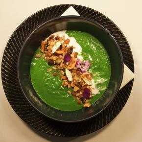 """Green Goddess"" smoothie bowl"